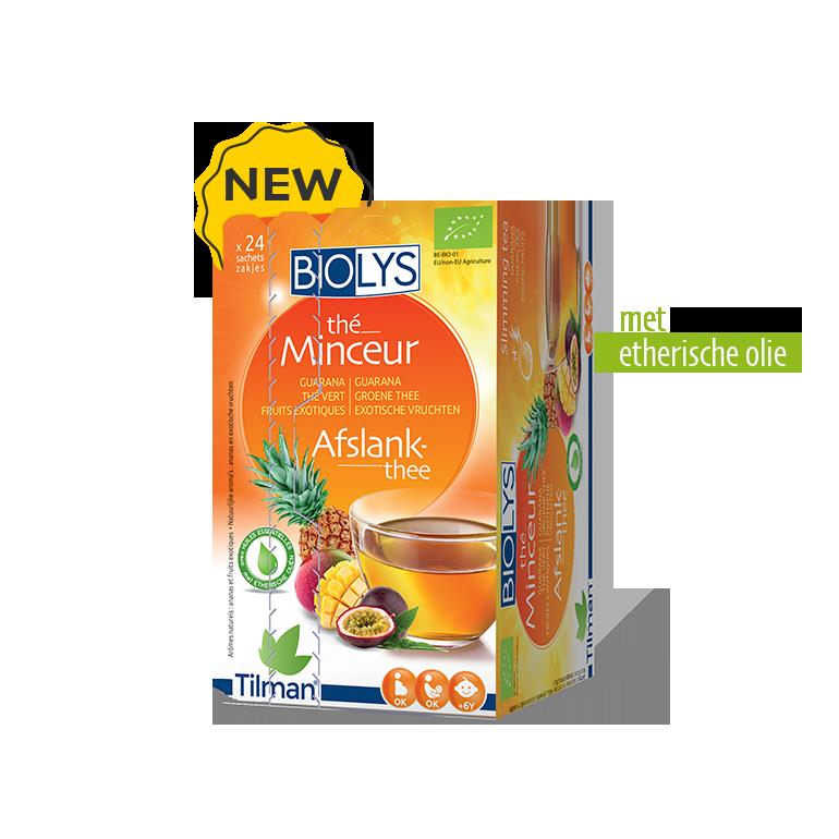Biolys Guarana-Groene thee-Exotische vruchten